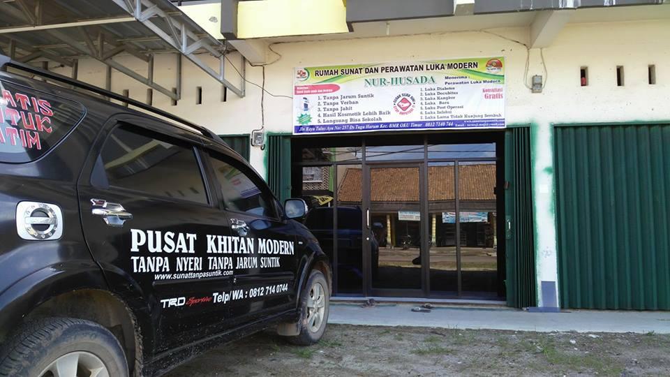 rawat luka dan khitan tanpa jarum suntik sumatra